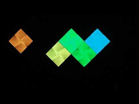 Nanoleaf Canvas - Rhythm demo, classic visualizer