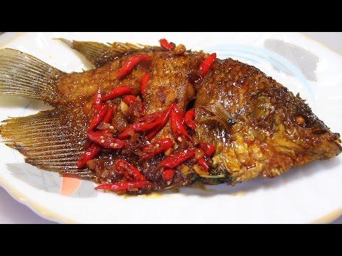Resep Ikan Goreng Kecap Pedas