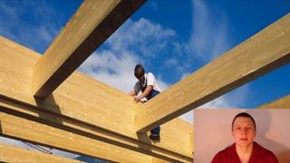 видео Расчет деревянных балок перекрытия