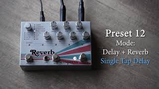 Empress Effects - Reverb - My 13 Favorite Settings - Pedal Demo!