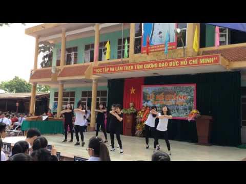 Học Sinh Trường THPT Mê Linh-Hà Nội Nhảy Hiện Đại La La Latch - Daddy ngày bế giảng 2016