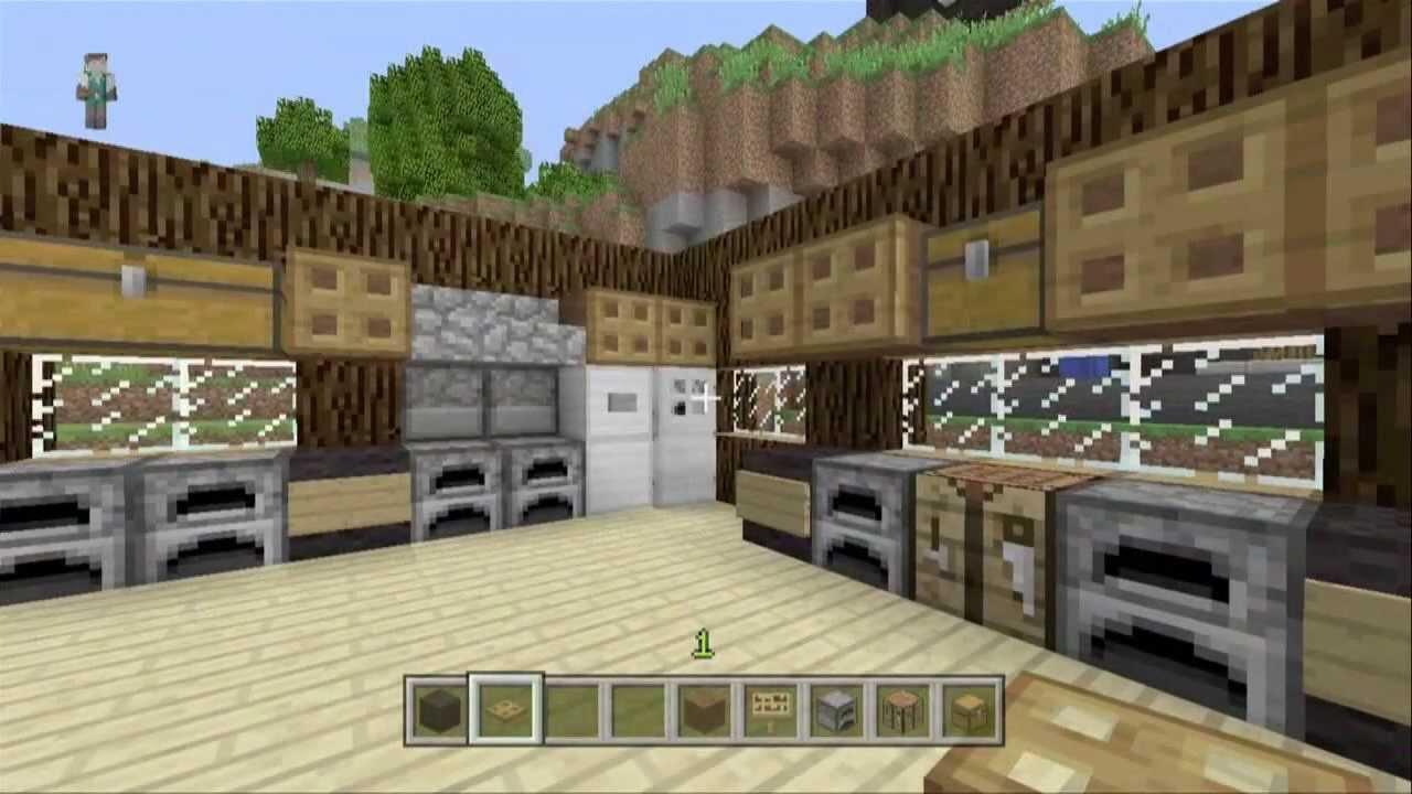 Decoraciones ep 2 cocina minecraft xbox 360 youtube - Decoraciones para cocinas ...