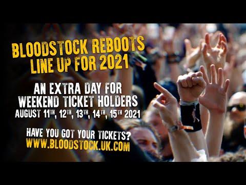 Bloodstock Open Air 2021 – Official UK Metal Festival Trailer