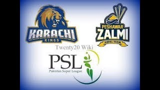 PSL Live: Geo Super Live PSL || Ptv Sports live PSL | 9th match Karachi Kings vs Peshawar Zalmi