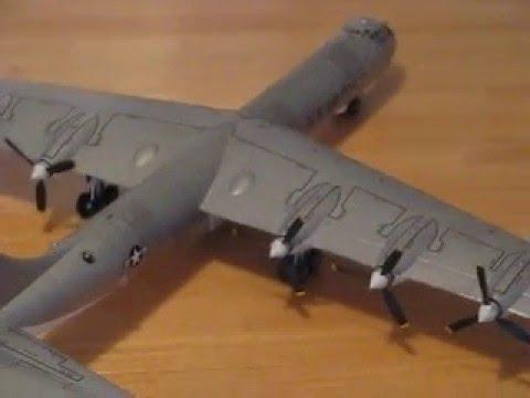 1/72 B-36J Peacemaker - Monogram - YouTube