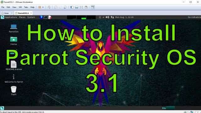How to Install Parrot Security OS 3 1 on VMware Workstation