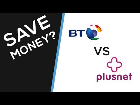BT vs PLUSNET Unlimited Fibre Broadband - Up To 76Mbps, Speed Test, Price Comparrison