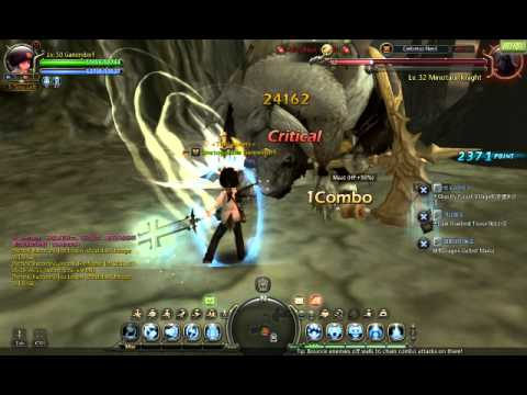 dragon nest destroyer skill flying swing ex youtube