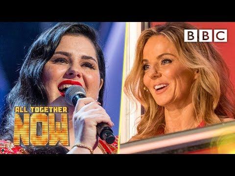 99 TO BEAT! Sing-off drama as Geri begs The 100 to stand for Mandi - All Together Now