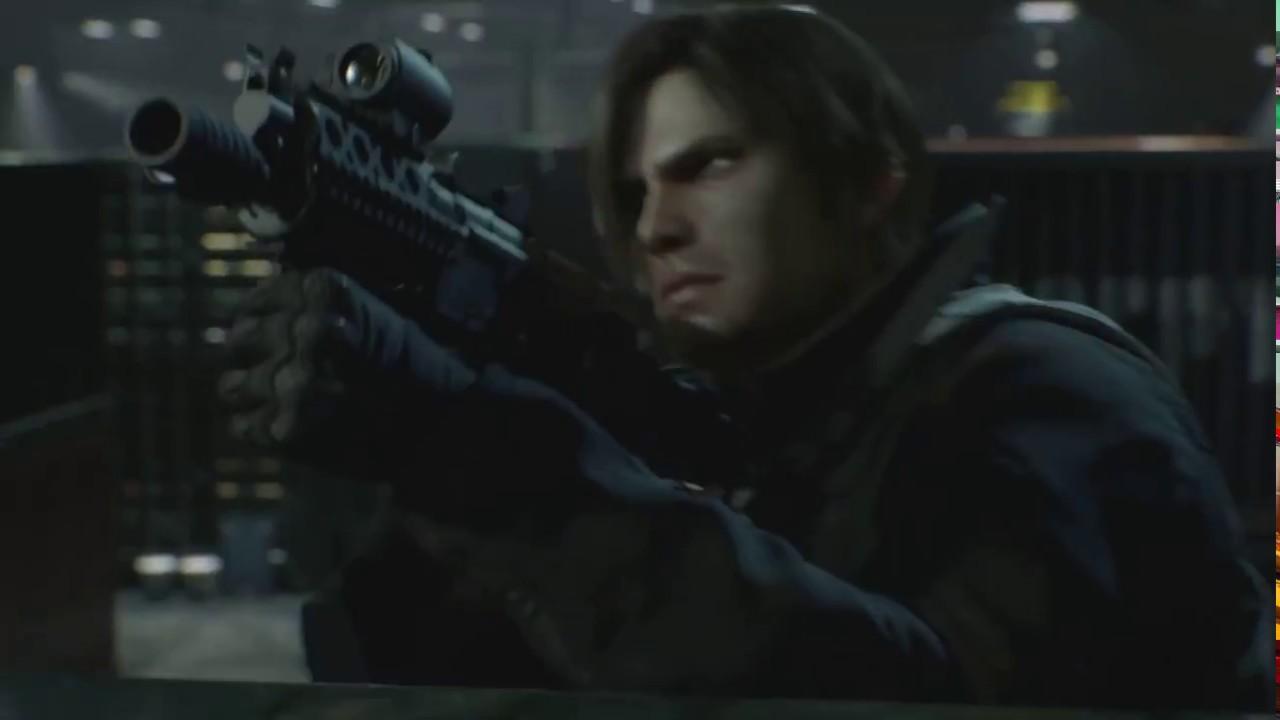 Resident Evil Damnation 2012 Attack Scene Part 3 Youtube