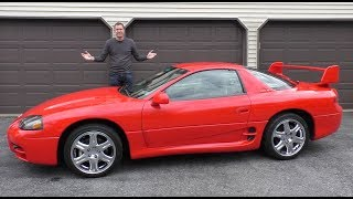 Here's Why the Mitsubishi 3000GT VR-4 Was a 1990s Icon
