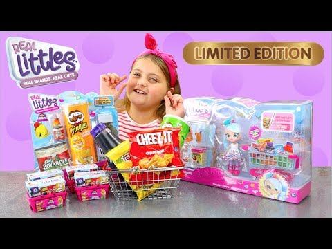 Shopkins Real Littles Real Brands GOLD Limited Edition Found