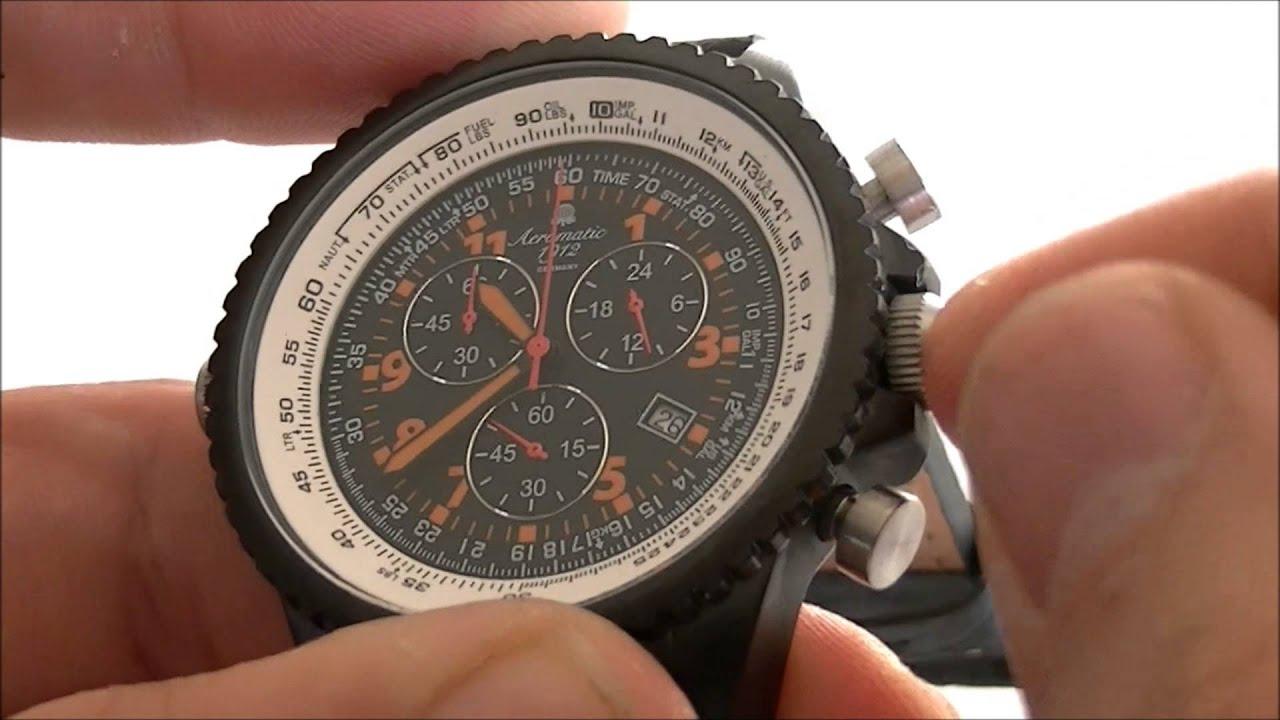5c7bfa2b2f0c Secondewijzer chronograaf horloge resetten