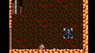Mega Man 3 - Hard Man Boss fight - User video
