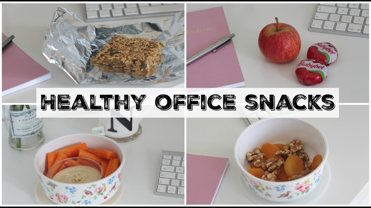 Healthy Snack Ideas For Work The Office