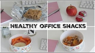 Healthy Snack Ideas for Work & the Office!   UK Dietitian Nichola Whitehead