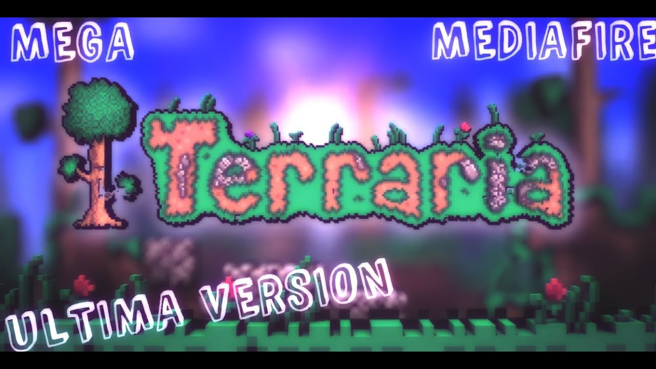 DESCARGAR TERRARIA ULTIMA VERSION + CRACK ONLINE || MEGA