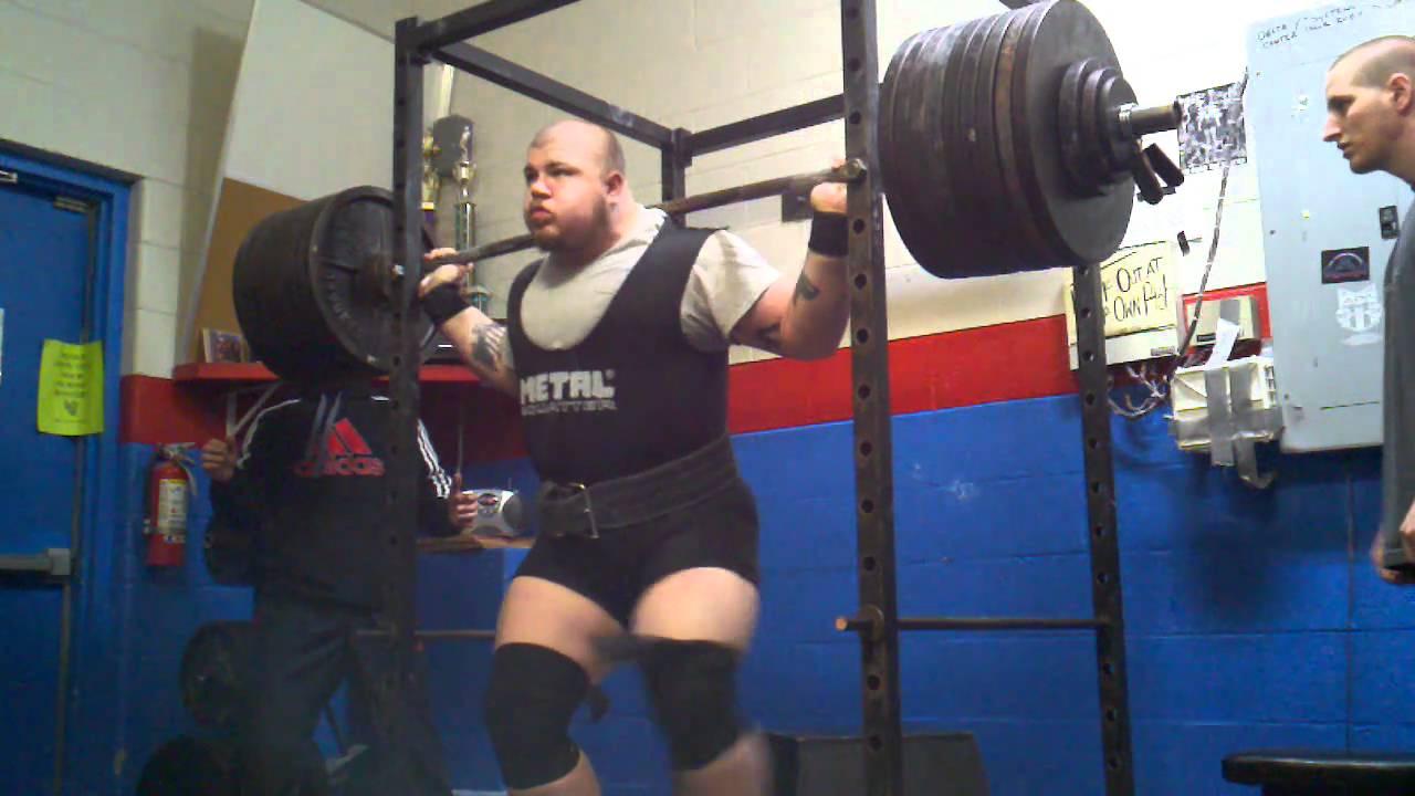 cb5835b1da684e Adam Hinton 900 lbs squat - YouTube