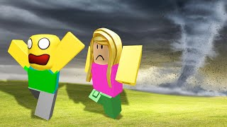 RUN FROM THE DESTRUCTIVE TORNADO! (Roblox)