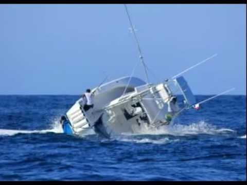 Marlin Sinks Fishing Boat In Panama