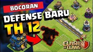 BOCORAN Defense BARU TH 12! || Ada BANGUNAN ANEH! || Coc Indonesia