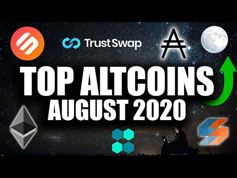 TOP 8 ALTCOINS AUGUST 2020 – HUGE PROFITS!!