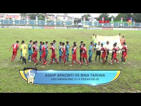 Highlight Liga KG Panasonic U-14 2016/2017 Pekan ke-25 Bagian ke-1