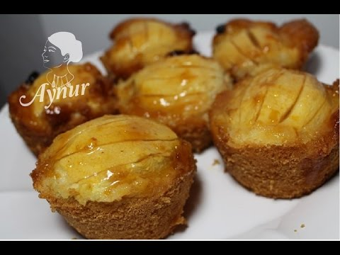 muffin rezept einfach und schnell mit apfel elmali muffin tarifi leckere muffins youtube. Black Bedroom Furniture Sets. Home Design Ideas