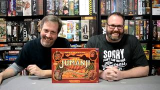 Unboxing of Jumanji by Cardinal Games