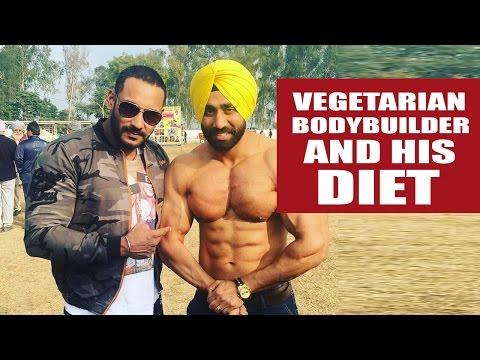 Vegetarians too can be bodybuilders