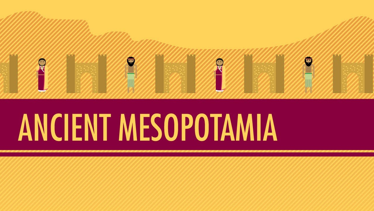 hight resolution of Mesopotamia: Crash Course World History #3 - YouTube