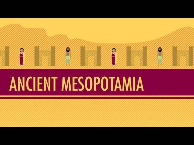Mesopotamia: Crash Course World History #3