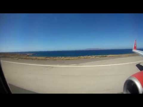 Take off from heraklion airport by travel service