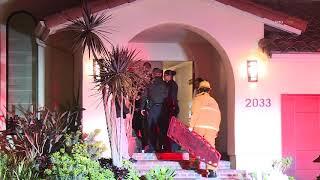 Pop Smoke - Last video of Rapper Pop Smoke leaving his Mount Olympus mansion in an Ambulance