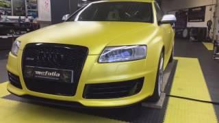 Audi RS6 Sunflower yellow von PWF Mc-Folia Kempten