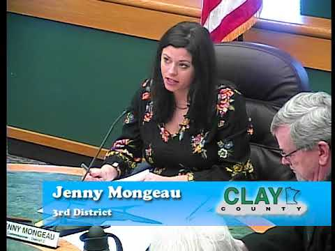 B170320A -03/20/18 - Clay County MN Board of Commissioners