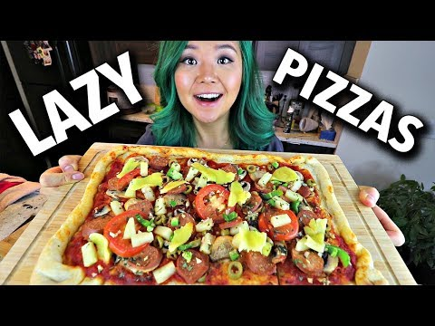 lazy-vegan-pizza-2-ways
