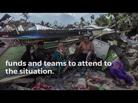 Catholic Relief Services helps victims of Indonesia earthquake and tsunami