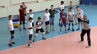 Детский волейбол. Обучение. Подача и прием подачи