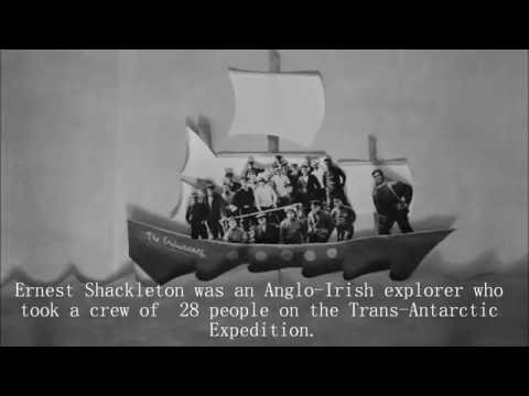 Ernest Shackleton's Expedition to the Antarctic