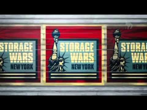 Vidéo Olivier Lambert Storage Wars enchères à New York saison 1 E6 FR extrait1mn
