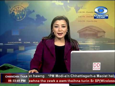 DDK Aizawl 9th November, 2018. 06:30pm NEWS