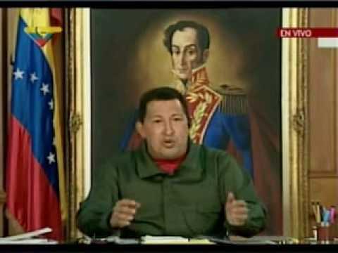 Declara presidente Chávez desde Miraflores II