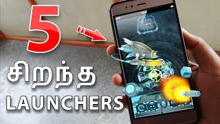 5 Best Launcher for Android 2017 Tamil