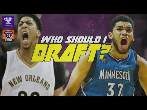 Anthony Davis or Karl-Anthony Towns? NBA Fantasy Basketball 2017/2018