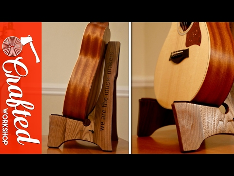 DIY Guitar Stand (Free Template!) | How To Build