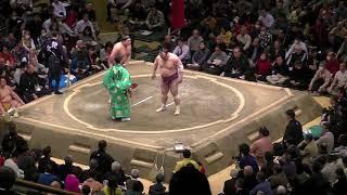 今年初めての国技館大相撲観戦は私の誕生日でした 贔屓力士の阿炎政虎関...