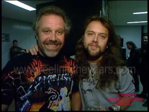 """Metallica- Backstage Tour & """"Enter Sandman"""" On Countdown 1992"""