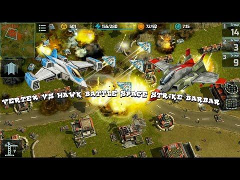 Art Of War 3 2VS 2 BARBAR NEAR MAP !! BLUE BOOSTER | HAWK VS VERTEX BATTLE SPACE STRIKE