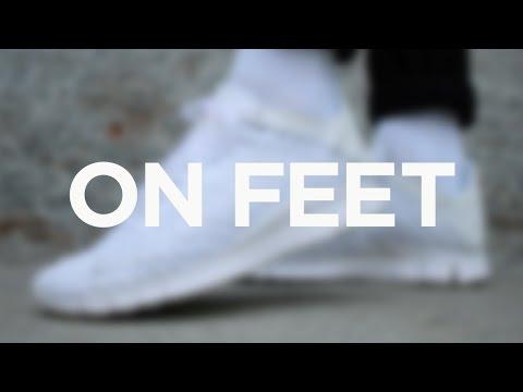 newest d4173 747f4 ON FEET Nike Free Inneva Woven Tech - White